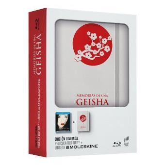 Memorias de una geisha - Blu-Ray + Moleskine