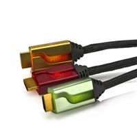 Cable triple HDMI Afterglow Rojo/Oro/Verde 1,8 m