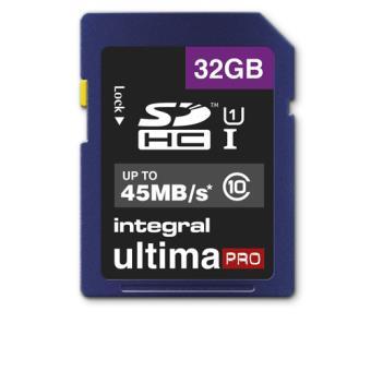 Tarjeta SDHC Integral Ultima Pro 32GB Clase 10
