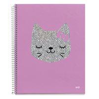 Cuaderno A4 Miquelrius Gato cuadrícula