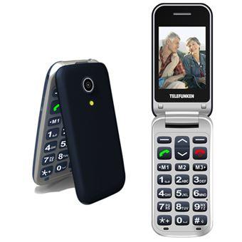 Teléfono móvil Telefunken TM 210 Izy Azul Libre