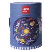 Puzzle circular Apli Sistema solar 48 piezas