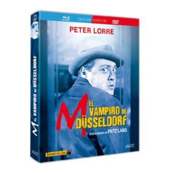 M. El vampiro de Düsseldorf - Blu-Ray + DVD
