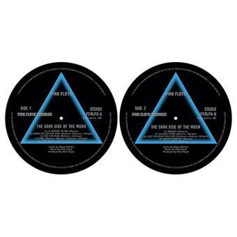 Deslizadores para tocadiscos Dark Side of the Moon Pink Floyd