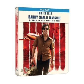 Barry Seal: El traficante - Steelbook Blu-Ray
