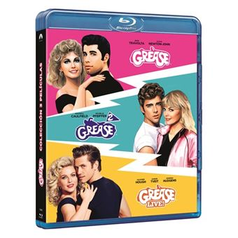 Pack Grease 1-3 - Blu-Ray
