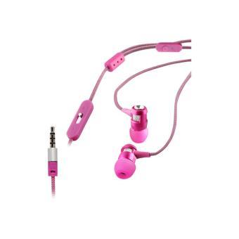 Auriculares de botón con micrófono MCA MUHPH0060 Rosa