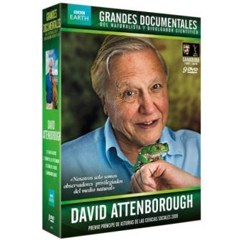 Pack Grandes documentales de David Attenborough - DVD