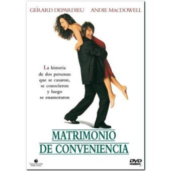 Matrimonio de conveniencia - DVD