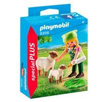 Playmobil Granjera con ovejas
