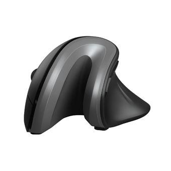 Ratón inalámbrico ergonómico Trust Verro Negro