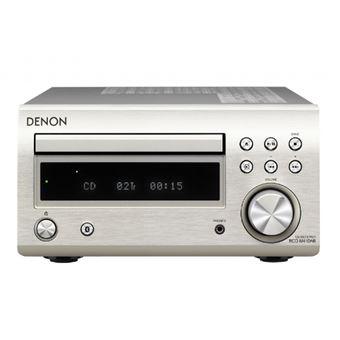 Microcadena Bluetooth Denon D-M41 Plata