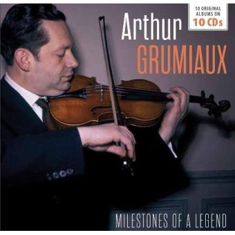Milestones of a Legend. 17 Original Albums: Arthur Grumiaux  (10 CD)