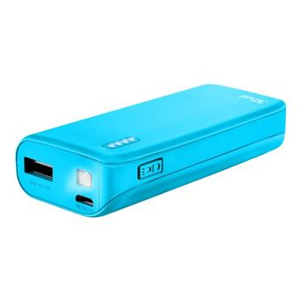 Powerbank Trust Urban Primo USB 4400 mAh Azul