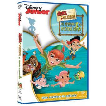 Jake y los piratas de Nunca Jamás: El regreso de Peter Pan - DVD