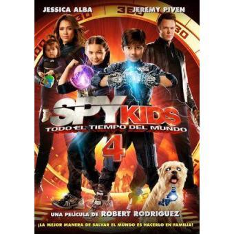 Spy Kids 4: Todo el tiempo del mundo - DVD