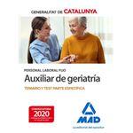 Aux geriatria cataluña tema+test