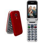 Teléfono móvil Telefunken TM 210 Izy Rojo Libre