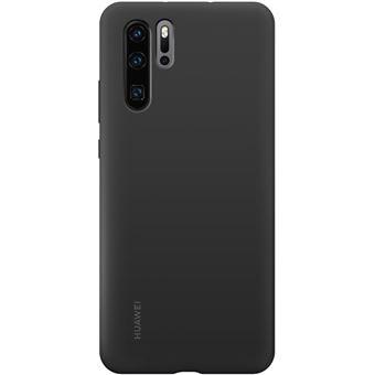 Funda de silicona Negra Huawei para P30 Pro