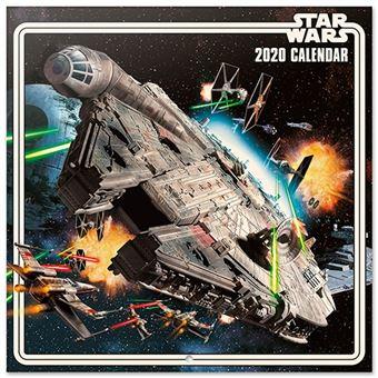 Calendario de pared 2020 Erik 30x30 multilingüe Star Wars Classic