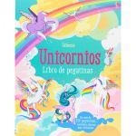 Unicornios-libro de pegatinas