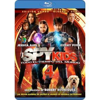 Spy Kids 4: Todo el tiempo del mundo - Blu-Ray + DVD