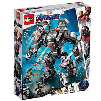 LEGO Super Heroes 76124 Depredador de Máquina de Guerra