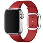 Correa Apple Watch S4 (PRODUCT)RED Carmín con hebilla moderna (40 mm) - Talla S