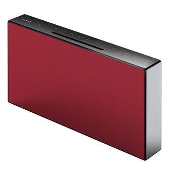 Microcadena Bluetooth Sony CMT-X3CD Rojo