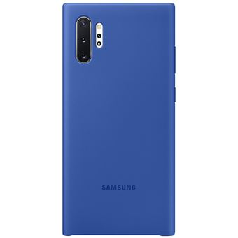 Funda de silicona Samsung Azul para Galaxy Note 10+