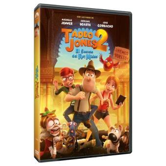 Tadeo Jones 2. El secreto del Rey Midas - DVD