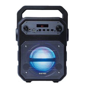Altavoz Bluetooth Karaoke  Daewoo DSK-345 Negro