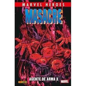 Marvel Héroes 84. Masacre 4: Agente de Arma X