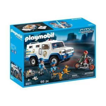 Playmobil  Vehículo blindado de la policía  (9371)