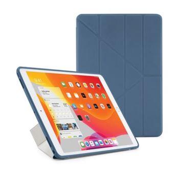 Funda con soporte Pipetto Origami Azul para iPad 10,2''