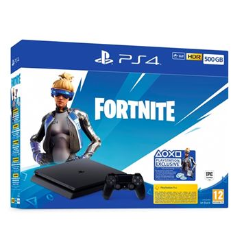 Consola PS4 Slim 500 GB + Fortnite Voucher 2019