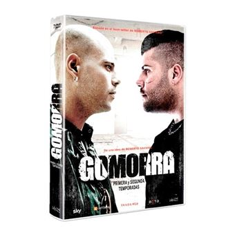 Gomorra  Temporada 1-2 - DVD