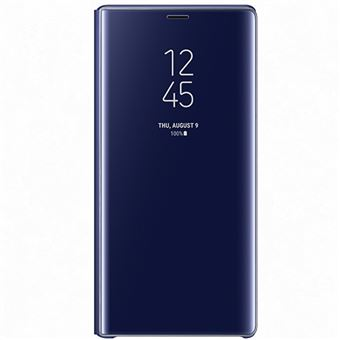 Funda Samsung Clear View Standing Cover Azul para Note9