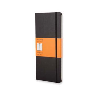 Cuaderno Moleskine L Pautado Negro