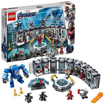 LEGO Marvel Super Heroes 76125 Iron Man Sala de Armaduras