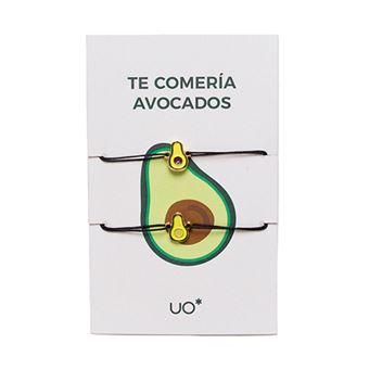 UO Pulseras Charm Te comería avocados - Pack