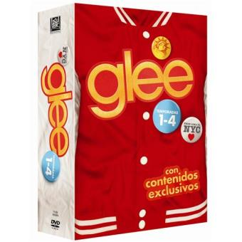 Glee  Temporadas 1 a 4 - DVD