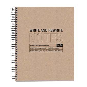 Cuaderno Miquelrius A5 Craft Cuadrícula