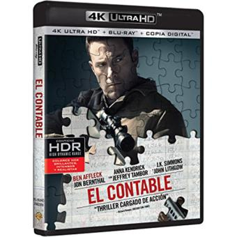 El contable - UHD + Blu-Ray + copia digital