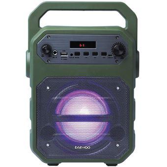 Altavoz Bluetooth Karaoke Daewoo DSK-345 Verde