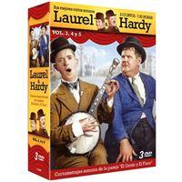 Pack Laurel y Hardy - Sus mejores cortos - Vol 3-5 - DVD