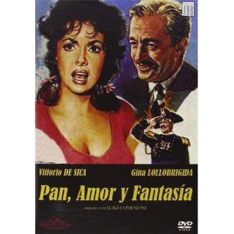 Pan, amor y fantasía - DVD
