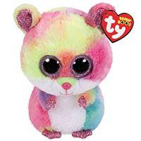Peluche Beanie Boo  - Rodney el hamster 15 cm