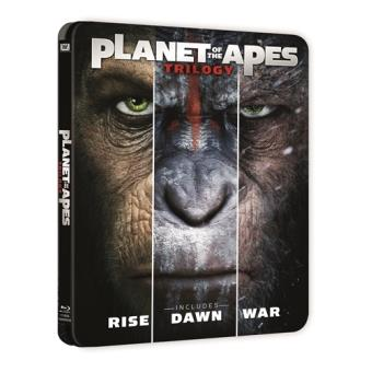 Planeta de los Simios Trilogía - Steelbook Blu-Ray