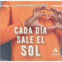 Calendario de sobremesa 2021 Amat Cada día sale el sol